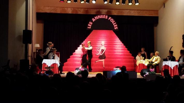 Véronique et Gilbert,  la polka à Vonnas le 21 septembre 2014