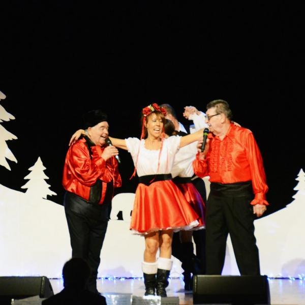 Brigitte, Maurice Antoine et Claude Leymarie,