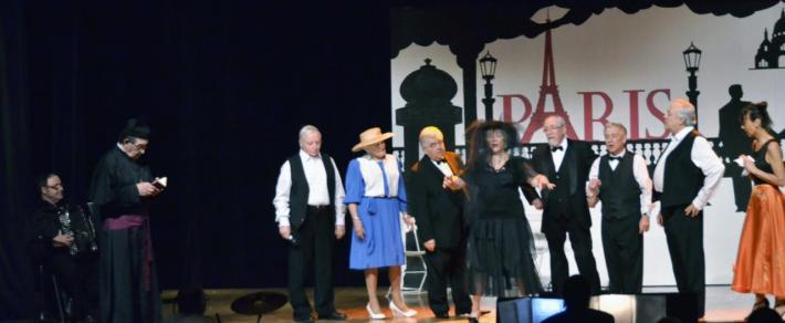 La veuve du colonel ( la vie parisienne  - Hoffenbach)